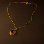 Nouveau Gold-Filled Necklace